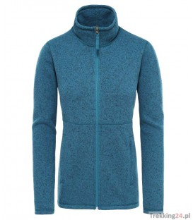 Sweter Damski The North Face Crescent FZ blue