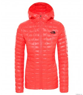 Kurtka Damska The North Face Eco Thermoball HD f.red