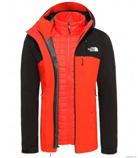 Kurtka Męska The North Face Thermoball Triclimate red/black