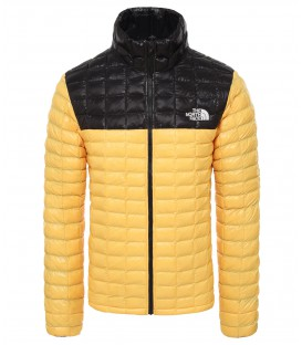 Kurtka Męska The North Face Thermoball Eco JKT yellow/black