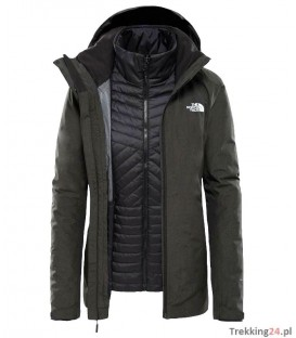 Softshell Damski The North Face Inlux TRC grey