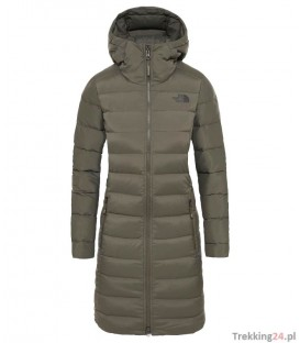 Kurtka Damska The North Face Stretch Down Parka t.green