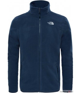 Polar Męski The North Face 100 Glacier FZ navy