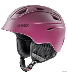 Kask Uvex Fierce berry mat