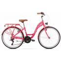 Rower Romet Panda 1.0 2020 różowy