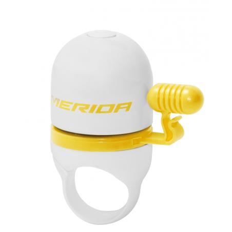 Merida Dzwonek Biały z Żółtym