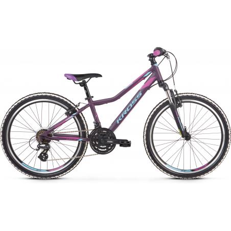 Kross Lea Jr 2.0 2021 Fioletowy - Niebieski Mat Rower