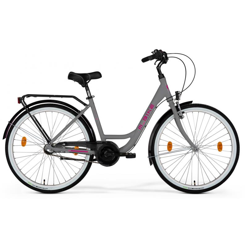 M-Bike Cityline 728 2021 Szary Mat