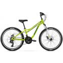 Rower Dziecięcy Romet Rambler Fit 24 2021 Zielono - Niebieski