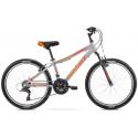 Rower Dziecięcy Romet Rambler 24 2021 Grafitowo - Czerwony