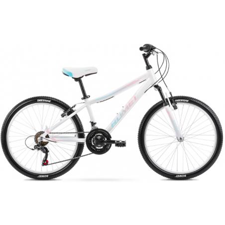 Rower Dziecięcy Romet Jolene 24 2021 Biały