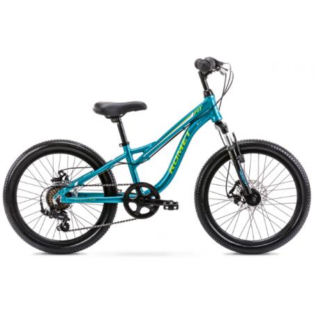 Rower Dziecięcy Romet Rambler Fit 20 2021 Turkusowy