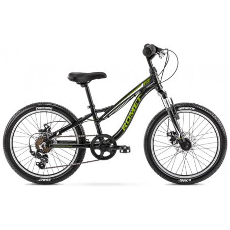 Rower Dziecięcy Romet Rambler Fit 20 2021 Czarny