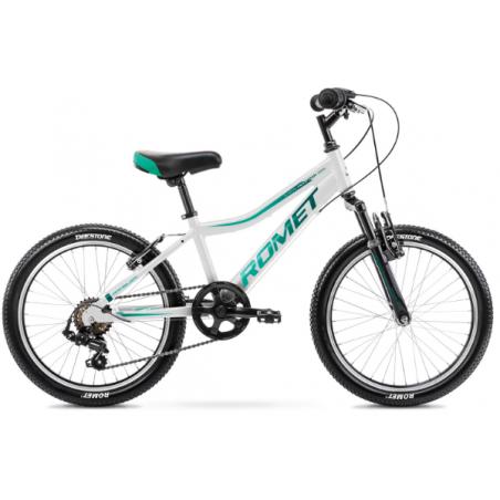 Rower Dziecięcy Romet Rambler 20 Kid 2 2021 Biały