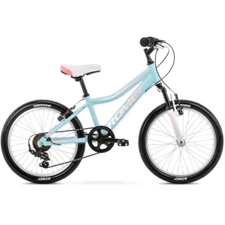 Rower Dziecięcy Romet Jolene 20 Kid 2 2021 Niebieski