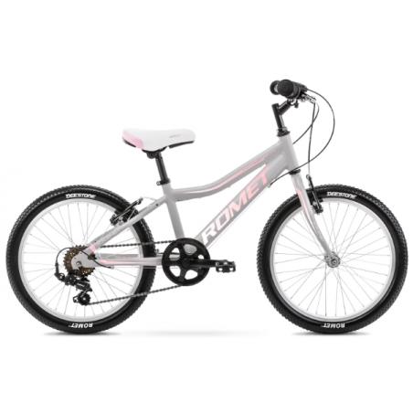 Rower Dziecięcy Romet Jolene 20 Kid 1 2021 Szary