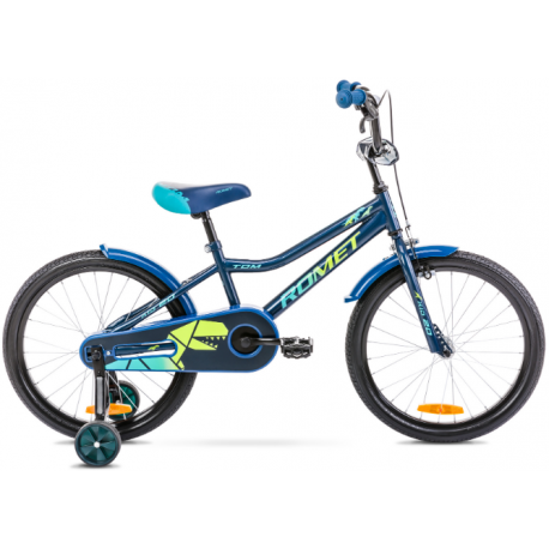 Rower Dziecięcy Romet Tom 20 2021 Niebieski