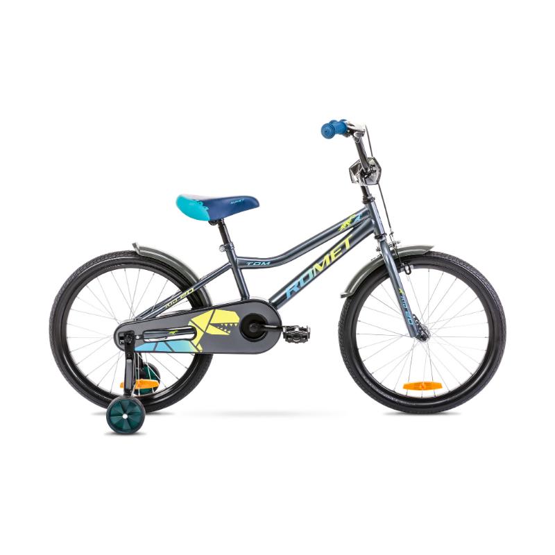 Rower Dziecięcy Romet Tom 20 2021 Antracyt