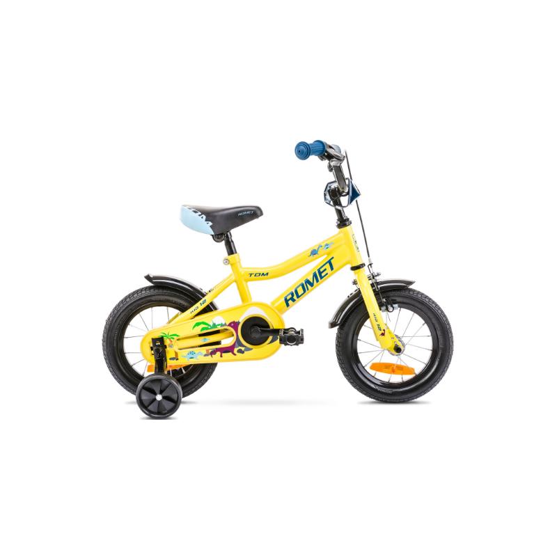 Rower Dziecięcy Romet Tom 12 2021 Zółty