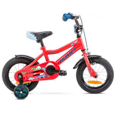 Rower Dziecięcy Romet Tom 12 2021 Czerwony