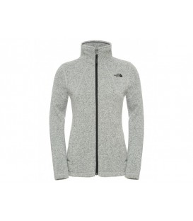 Sweter Damski The North Face Crescent Full Zip Szary 2UAN0ZX The North Face
