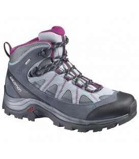 Buty Damskie Salomon Authentic LTR GTX Szare 373261 Salomon