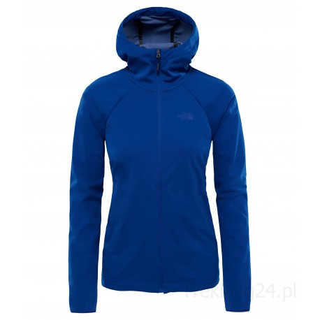 Softshell Damski The North Face Inlux HD Niebieski T93BVKZDE The North Face