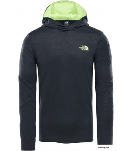 Bluza Męska The North Face Reactor Hoodie szara T92XL73ZV The North Face
