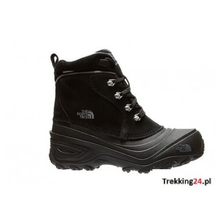 Buty Dziecięce The North Face Chilkat Lace II Czarne T92T5RKZ2 The North Face