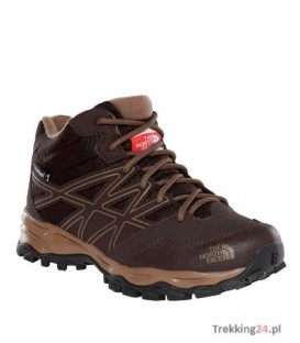 Buty Dziecięce The North Face Hedgehog Hiker Mid Brązowe T0CJ8QYSL The North Face