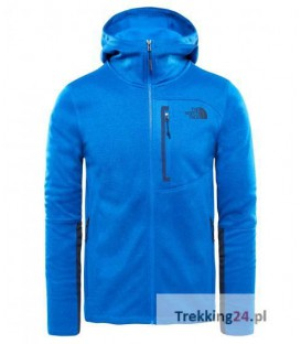 Bluza Męska The North Face Canyonlands Hoodie Niebieska T92TXH1ML The North Face