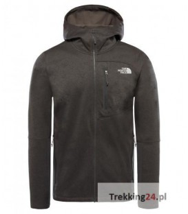 Bluza Męska The North Face Canyonlands Hoodie Szara T92TXHDYZ The North Face