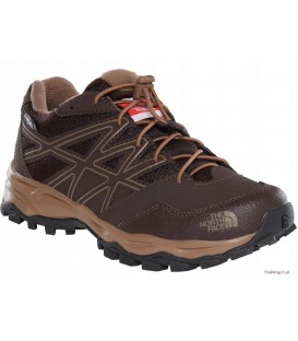 Buty Dziecięce The North Face Hedgehog Hiker WP Brązowe T0CJ8PYSL The North Face
