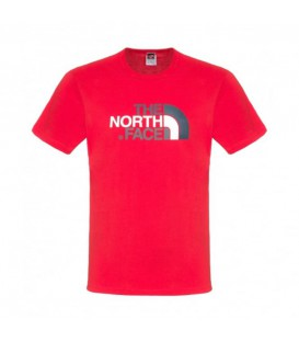 Koszulka Męska The North Face Easy Tee Czerwona T92TX3H3H The North Face