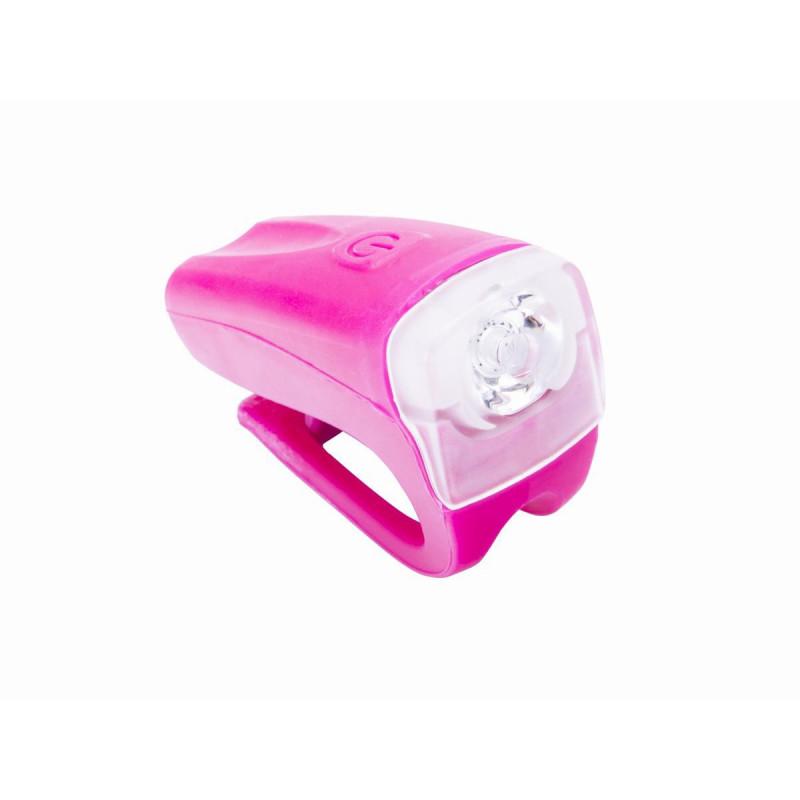 Lampa Przednia Romet JY-378FC Różowa 00-11-19004-01-00073 Romet